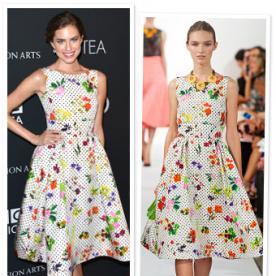 Allison Williams Returns to Oscar de la Renta for ONE Emmys Moment, But Not the Big One