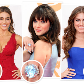 Emmys 2013 Is The Year of the Bling Ring: Sofia Vergara, Zooey Deschanel and Allison Williams