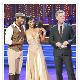 Exclusive! Dancing with the Stars' Karina Smirnoff Talks Last Night's Retro-Inspired Costume