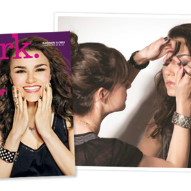 From Les Misérables to Beauty Queen! Get Samantha Barks' Gorgeous Makeup From the Cover Of mark. Cosmetics' Magalog