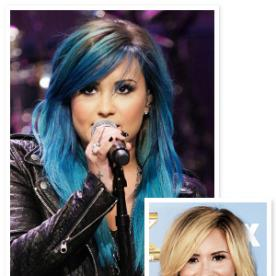 Demi Lovato Dyes Her Hair Blue, and Has an Exciting Launch On the Way!