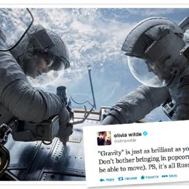 Gravity  Broke Box Office Records and Left Audiences Speechless, But Not On Twitter