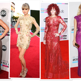 The Female Leaders of the 2013 American Music Awards: What They Wore Then