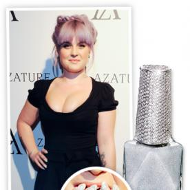 Kelly Osbourne Shows Us All What a Million-Dollar Manicure Looks Like (For Two Good Causes!)