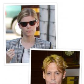 The Latest Celebrities to Go Blonde? Kate Mara and Johnny Depp!