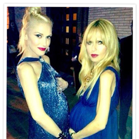 Photo of the Day: Rachel Zoe and Gwen Stefani's Growing Baby Bumps