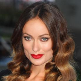 Olivia Wilde's Makeup Must-Haves: Bright Lipstick and Even Some Electric Blue Eyeliner!