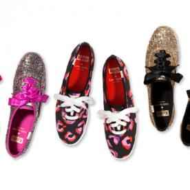 The Keds x Kate Spade Holiday Collection Makes Its Debut