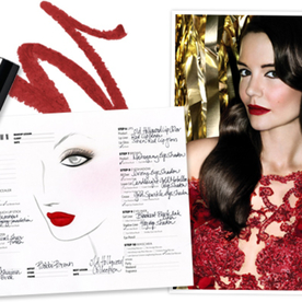 See Katie Holmes' Glamorous Holiday Campaign for Bobbi Brown, and Find Out the Exact Products She Used!