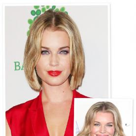 Get Exclusive Details on Rebecca Romijn's Chin-Skimming Bob