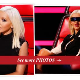 Exclusive! Details on Christina Aguilera's Hair from This Week's The Voice