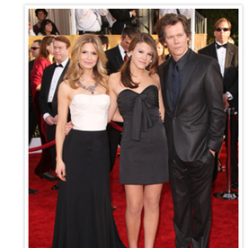 Say Hello To Miss Golden Globe 2014, Kevin Bacon and Kyra Sedgwick's Daughter, Sosie Bacon!