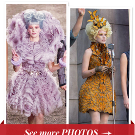 5 of Effie Trinket's Most Outrageous Looks from The Hunger Games