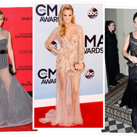 From JLaw to Pippa: The Latest Red Carpet Trend Is Sheer (Genius)