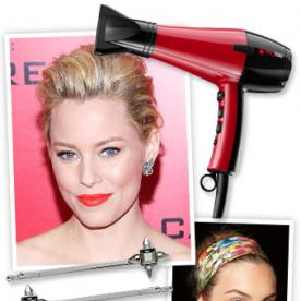 Holiday Hair 2013: Festive Accessories, Star-Inspired Updos, Must-Try Hair Tools, and More!