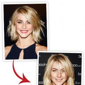 Party Hairstyle Idea: Insta-Extensions Like Julianne Hough