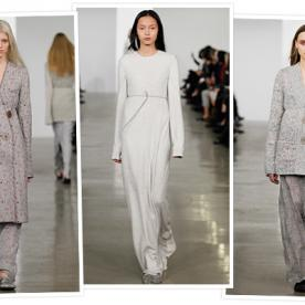 Introducing This Week's Wow: Calvin Klein Collection's Surprisingly Cozy Pre-Fall Show