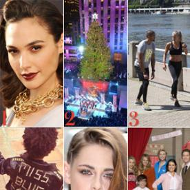 Gal Gadot Is Wonder Woman, Mariah Carey Performed at the Rockefeller Center Tree Lighting, and More
