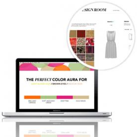 "Design a Custom Dress Based on Your ""Color Aura"" With New Site Piol"