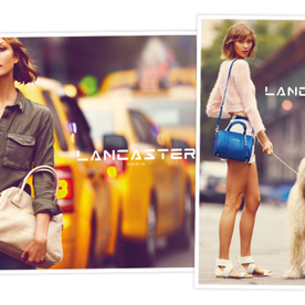 Karlie Kloss is the New Face of Lancaster Paris