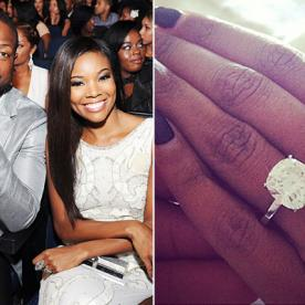 Gabrielle Union and Dwyane Wade Are Engaged! See the Big Rock