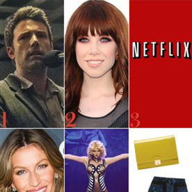 Get a Sneak Peak of Ben Affleck in Gone Girl, Carly Rae Jepsen Is Off to Broadway, and More