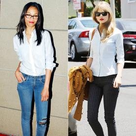 How to Wear Jeans to Work   InStyle.com
