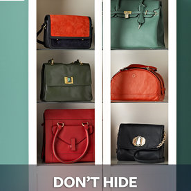 20 Tips Organizing Your Closet   DON?T HIDE THE PURSES