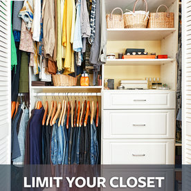 20 Tips Organizing Your Closet   LIMIT YOUR CLOSET TO READY TO WEAR