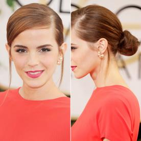 Best updo hairstyles for wedding prom instyle emma watson updo pmusecretfo Image collections