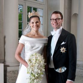 The best dressed celebrity brides of all time instyle crown princess victoria of sweden junglespirit Gallery