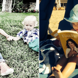 This 15 Cutest Celebrity Kids On Instagram In 2014