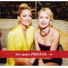 "Naomi Watts and Kate Hudson Celebrate 130 Years of Bulgari At the ""Decades of Glamour"" Party in Hollywood"