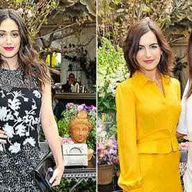 Emmy Rossum, Camilla Belle, and More Celebrate Christian Louboutin's Chic New Handbag Collection
