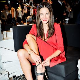 Brazilian Beauties Team Up: Alessandra Ambrosio Is Named the New Face of Schutz