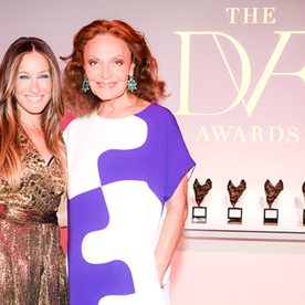 Sarah Jessica Parker, Alicia Keys, and More Step Out for the DVF Awards