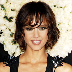 Amazing Jessica Albas Changing Looks Instyle Com Short Hairstyles For Black Women Fulllsitofus