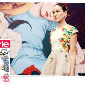 Does Sarah Jessica Parker Love Shoes as Much as Carrie Bradshaw? The Answer in February's InStyle May Surprise You