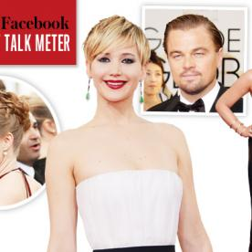 The InStyle and Facebook Red Carpet Talk Meter Results Are In! See the Most Buzzed-About Moments from the Golden Globes