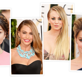 See Yourself In the Best Golden Globes Hairstyles — No Glam Squad Required!