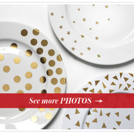 Try This DIY Perfect Party Plates For Your Awards Show Soire InStylecom
