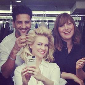 Photo of the Day: January Jones Makes Her Instagram Debut With a Selfie