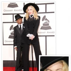 All in the Family: Madonna and Son David Wear Matching Ralph Lauren Tuxedos