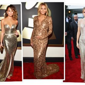 The Hottest Hues on the Grammy Red Carpet: Striking Metallic Shades