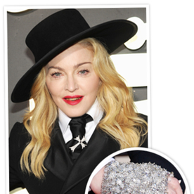 Madonna Breaks Out Unexpected Bling for the Grammys