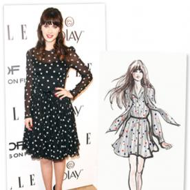 Want Zooey Deschanel's Flirty Style? You're In Luck, Thanks to Her New Capsule Collection