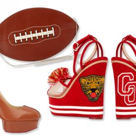Score A Fashion Touchdown With These Charlotte Olympia Super Bowl-Ready Accessories