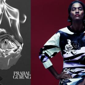 Prabal Gurung Is Taking His Spring 2014 Collection To Print