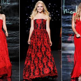 The Heart Truth Red Dress Fashion Show 2014: Celebrities Walk for a Cause!