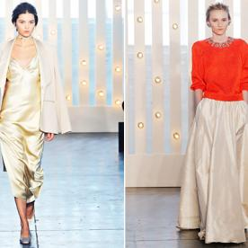 Designer Jenny Packham's Glamorous #NYFW Collection was Inspired by a Particular 70's Socialite